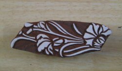 Brown Wooden Printing Blocks