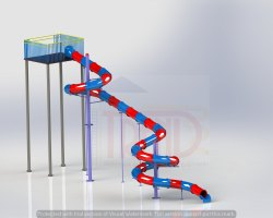 40 Feet Close Body Slides