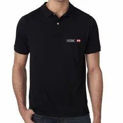 Cotton Black T-Shirt Sublimation Printing