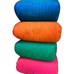 MT Jacquard Silk Printed Fabric