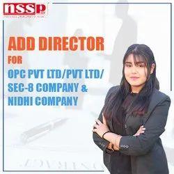 Add Director for OPC Pvt Ltd Company
