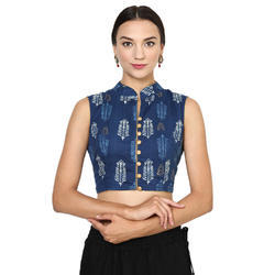 Designer Blouse In Cotton