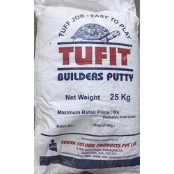 Acrylic Wall Coating Tufit Builders Putty for Interior, Packaging Type: 25 Kgs