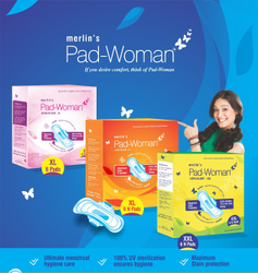 Cotton Sanitary Pad -Xl and XXL