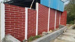 Brick Design Compound Wall