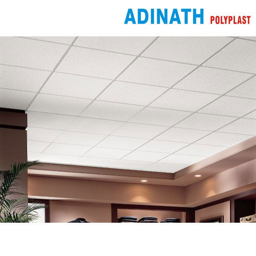 Adinath Polyplast Fiber Designer Ceiling Board For Office