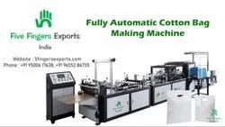 Five Fingers Nature - Fully Automatic Cotton Bag Making Machine