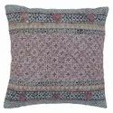 Embroidered Accent Cotton Cushion Cover