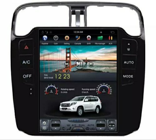 Android Tesla Style Car GPS Navigation multimedia For Volkswagen/VW Polo  2012 auto stereo