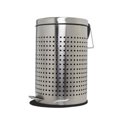 SS Pedal Perforated Bin
