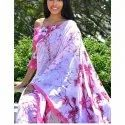 Casual Wear Printed Sarees, With Blouse Piece, 5.5 M (separate Blouse Piece)