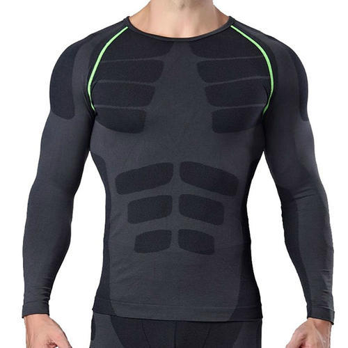 exclusive range attractive style top style Men Gym Compression T Shirts Manufacturer