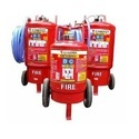 50 Kg. Dry Chemical Powder Trolley Type Fire Extinguisher