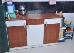 Wooden Storage Kitchen Table