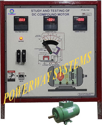 DC Compound Motor, Electrician Trade Instruments | Chandni Chowk