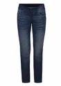 Dark Blue Solid Park Avenue Woman Power Skinny Fit Jeans