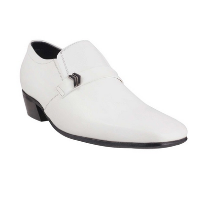 Metro 19-3856-White Formal Shoes at Rs