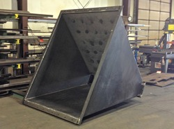On Demand Sheet Metal Hoppers Fabrication Services