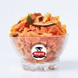 Spicy Corn Flakes MAKAI POHA CHEVDO, 200gms And 5kgs, Packaging Type: Packet