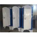Portable Deluxe Toilet Cabin Fiberglass
