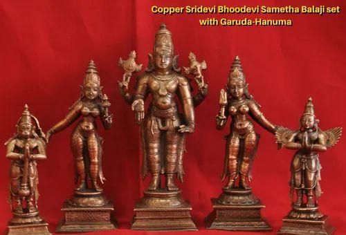Prasiddh copper idols presents Garuda Hanuman figurines