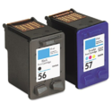 56 And 57 Hp Ink Cartridge For Printer