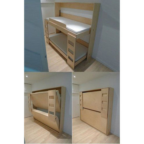 Brown Folding Wall Mounted Bed Rs 950 Square Feet Sai