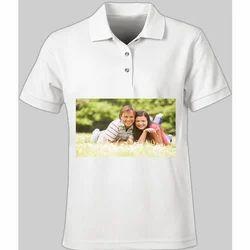 Photo Printed Polo T Shirt