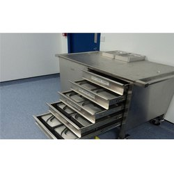 Maxx Furniture Powder Coated Stainless Steel Drawer, For Kitchen,Hotel