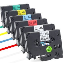 Fimax 6 Color Ribbon Label Tape