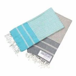 100% Cotton Custom Made Hammam Fouta Terry Towel
