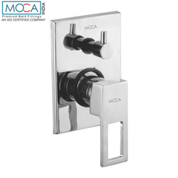 Chrome Plated Brass Dark Concealed Diverter Exposed Part