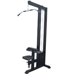 Commercial MS Mild Steel Single Stack Lat Pulldown, Weight: 500 Kg Approx