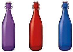 Multicolor Treo Giara Glass Bottle 1000mL