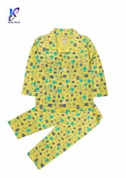 Cotton Printed Night Suit for Baby Boys