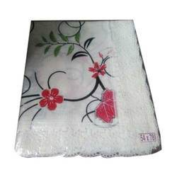 Floral Printed Plastic Table Cover