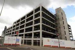Concrete Frame Structures Marble Commercial Complex Construction Services