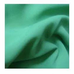 Plain Green Polyester Georgette Fabrics