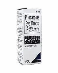 Pilocarpine Eye Drops IP 2% W/V
