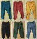 Handamde Plan Yoga Pants Indian Rayon Men's Trousers Summer Pants