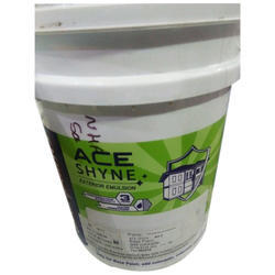 High Gloss Ace Shyne Exterior Emulsion Paints, For Roller and Brush