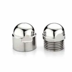 Radical Stainless Steel Cap, For Plumbing Pipe, Size: 1 Inch