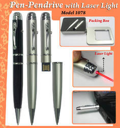 Pen-Pendrive With Laser Light H-1078