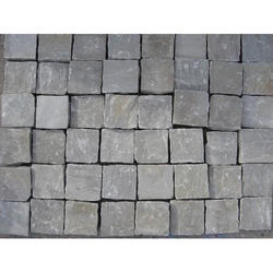 Grey Cobble Stone, Size: 10 x 10 cm