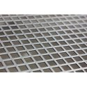 Stainless Steel Square Hole Perforated Sheets