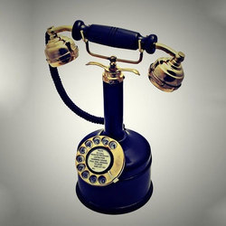 Iron Antique Telephone