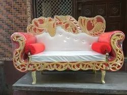 Red Wedding Sofa