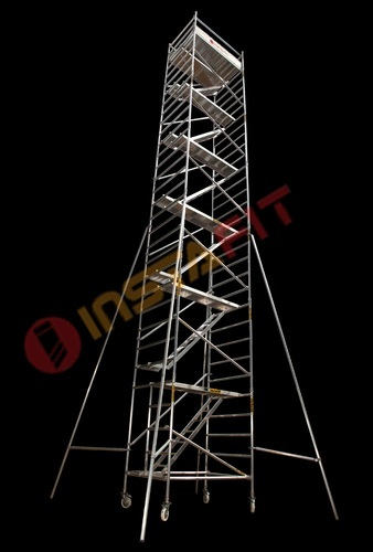 Mobile Scaffolding without Steps