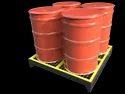 Spill Containment Pallet - 4 Drum