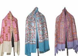 Embroidery Wool Pashmina Shawls